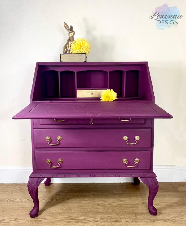 Bureau Purple and Gold