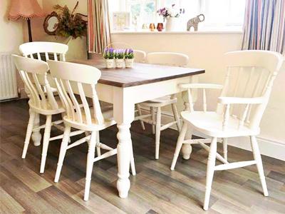 Painted Furniture Dining Set