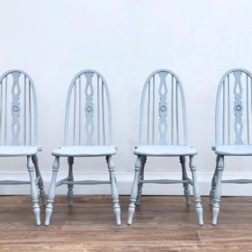 chairs grey painted