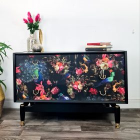 Painted & Decoupaged Sideboard
