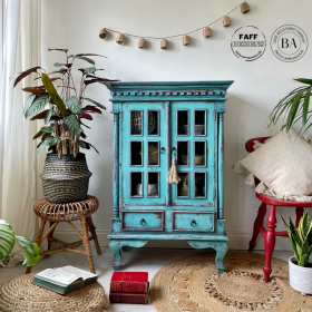 Painted Drinks Cabinet