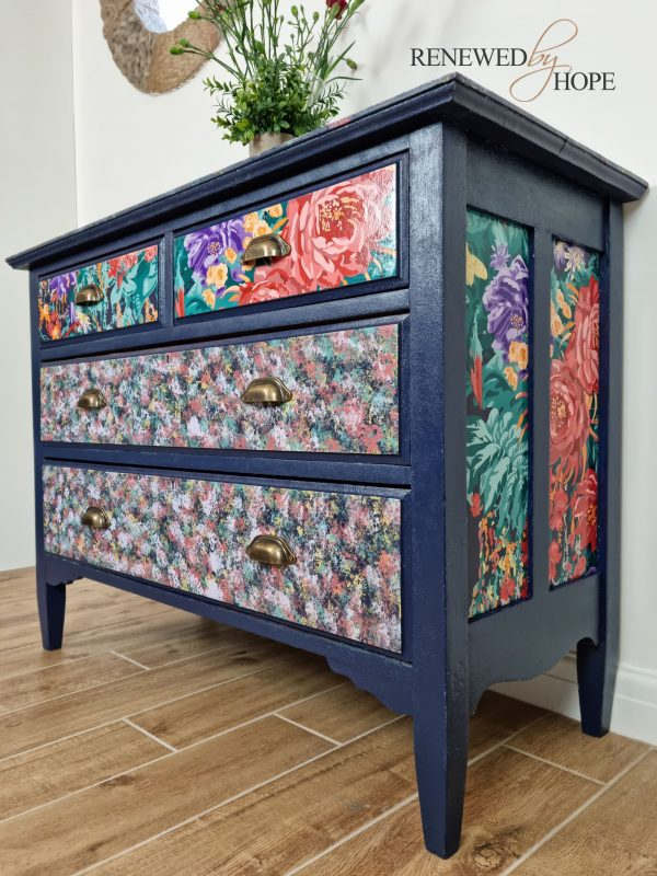 Chest of Drawers Navy and Brights 3 scaled