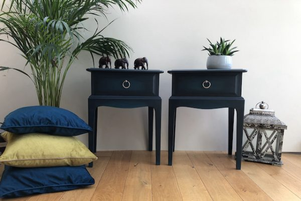 Stag Bedside Units - SOLD AVAILABLE FOR COMMISSION