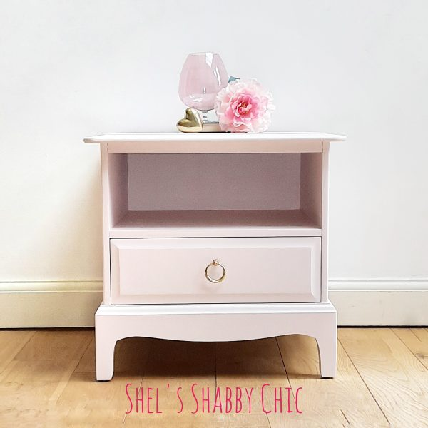 Stag-Bedside-Pink-Shels-Shabby-Chic-Stotfold