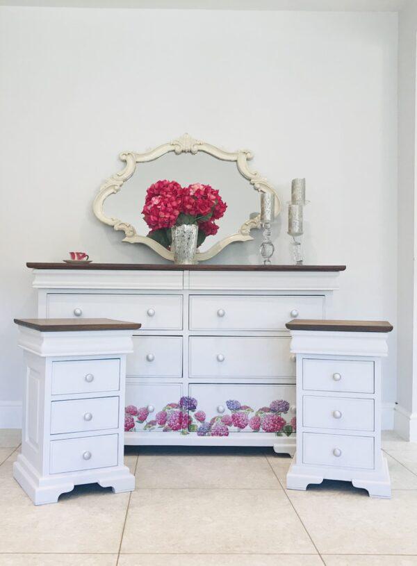 large white bedroom set chalk paint hydrangea decoupage autentico paint crafty nest scaled